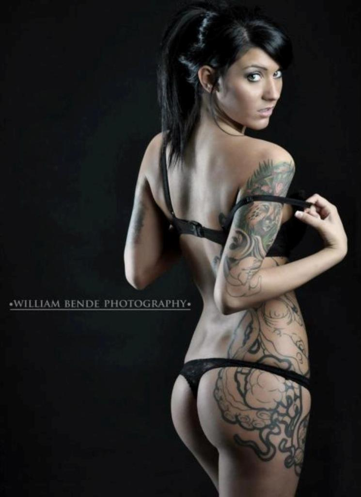 hot nude tattoos for females