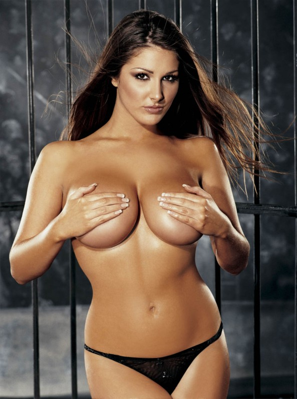 Lucy Pinder, is a British glamour model