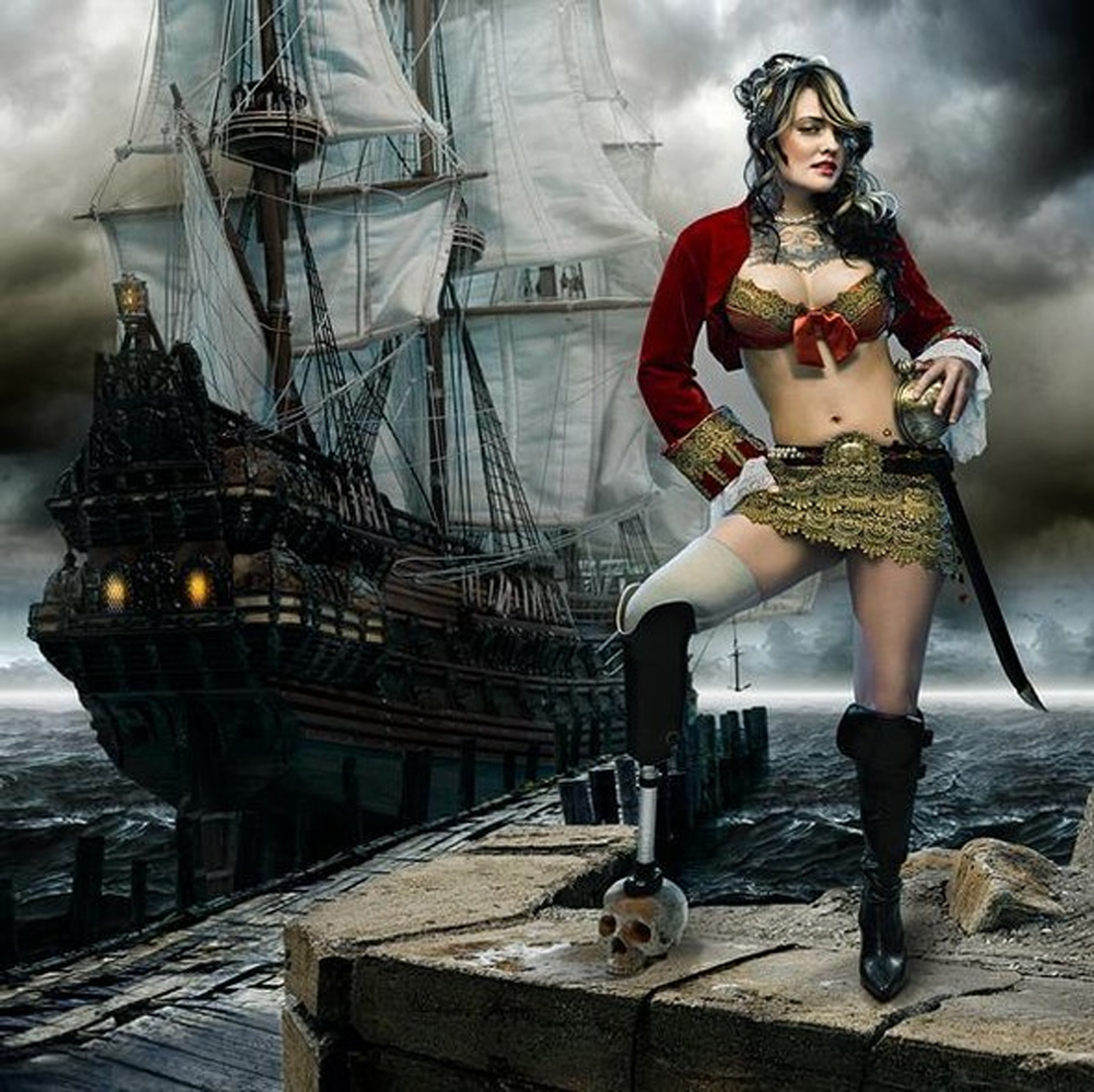 Pirate girl babes nude sex fashion porn star