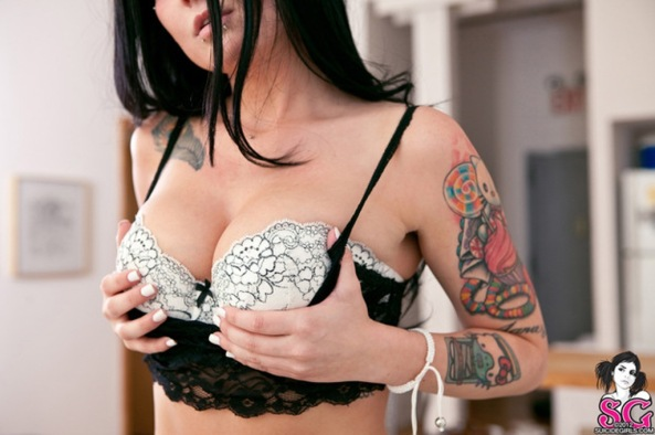 Chanel M Jordan Suicide Girls0