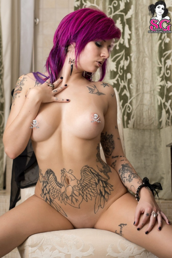 Katherine in Expectations for Suicide Girls9