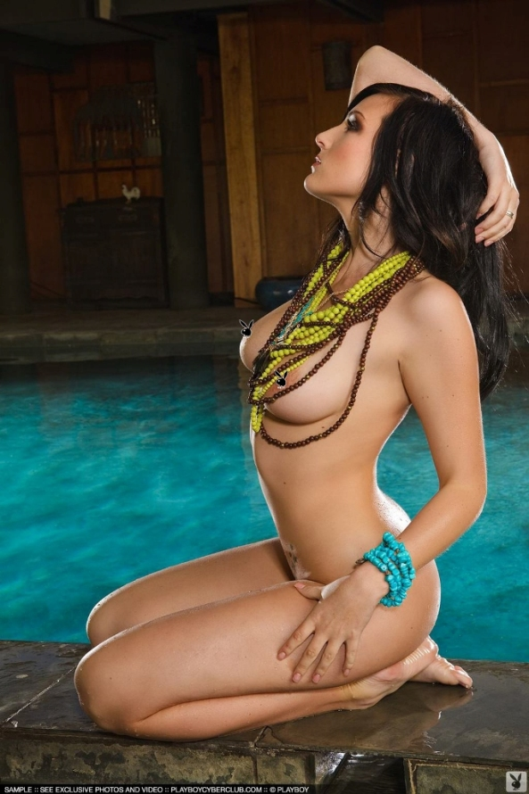 Kaya Danielle Playboy CyberGirl Of The Month May 20119